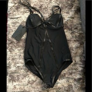 Sexy strap bodysuit